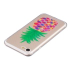 Pineapple Pattern TPU Protective Back Case for IPHONE 7 - Transparent
