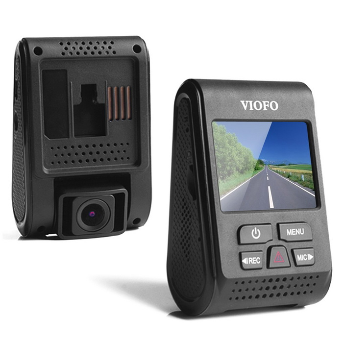 VIOFO A119 1440P 160 Degree Wide Angle Car DVR - Black