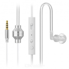 Cwxuan Sound Conduction Acoustic Air Tube Earphone w/ Mic.