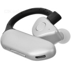 Q8 Bluetooth V4.1 Dubbelt Batteri Earhook Headset - Svart + Silver