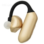 Q8 Bluetooth V4.1 Dual Battery Earhook Headset - Black + Golden