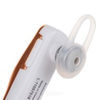 Q2 Car Style Single Ear Bluetooth V4.1 In-Ear Headset - White + Golden