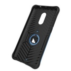 TPU + PC Cases w/ Holder Stand for Xiaomi Redmi Note 4 - Black + Blue