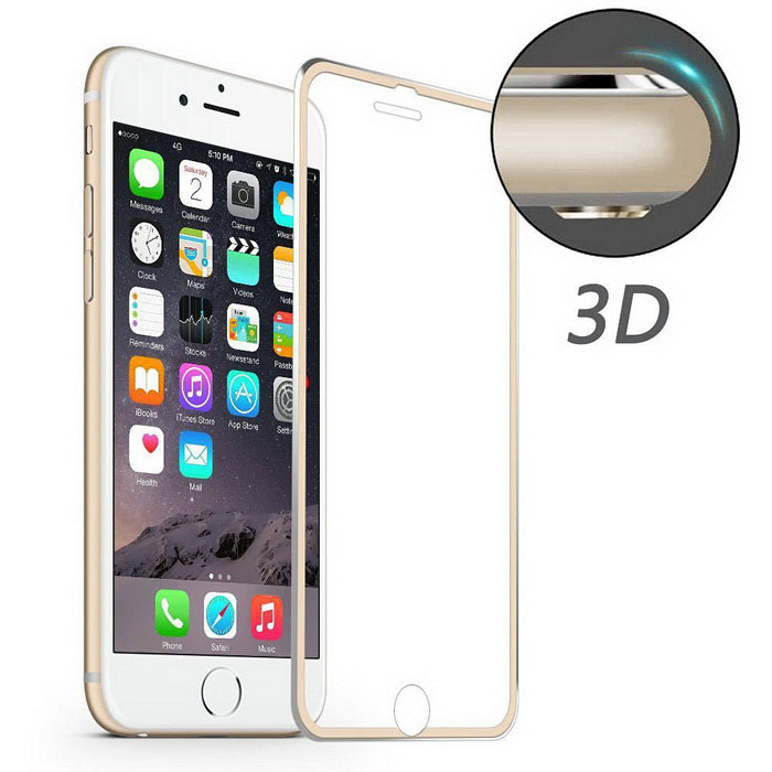 Hat-Prince 3D 0.2mm 9H Full Screen Protector for iPhone 7 Plus -Golden