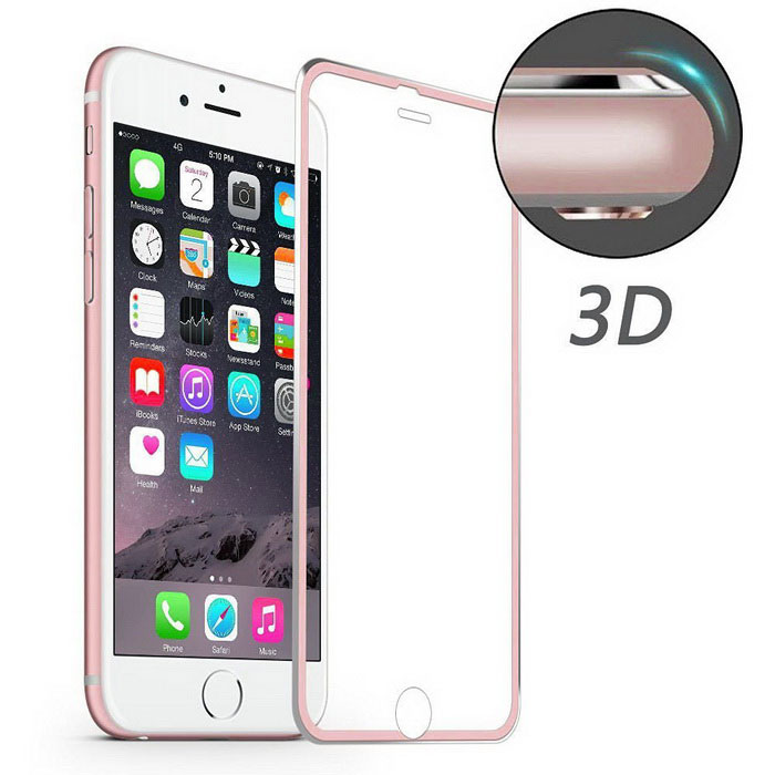 Hat-Prince 3D 0.2mm 9H Full Screen Protector for IPHONE 6 / 6S - Pink