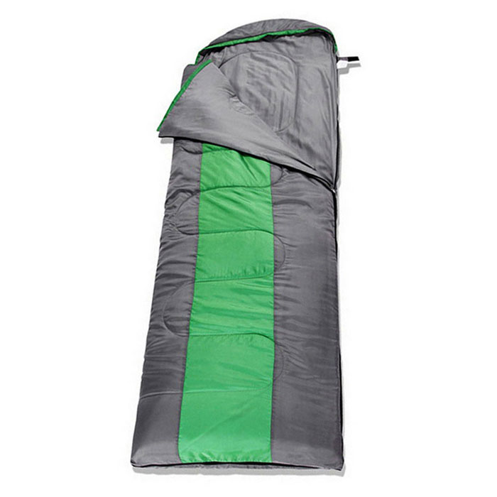 AOTU Outdoor Widened Extension Thickening Spliced Sleeping Bag - Green