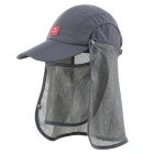 Naturehike Fishing Cap Outdoor Sun Shading Hat Quick Drying - Grey
