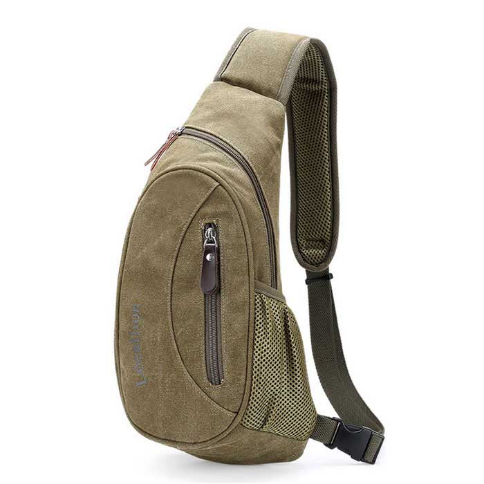 LOCAL LION Recreational Multi-functional Aslant Single Shoulder Bag