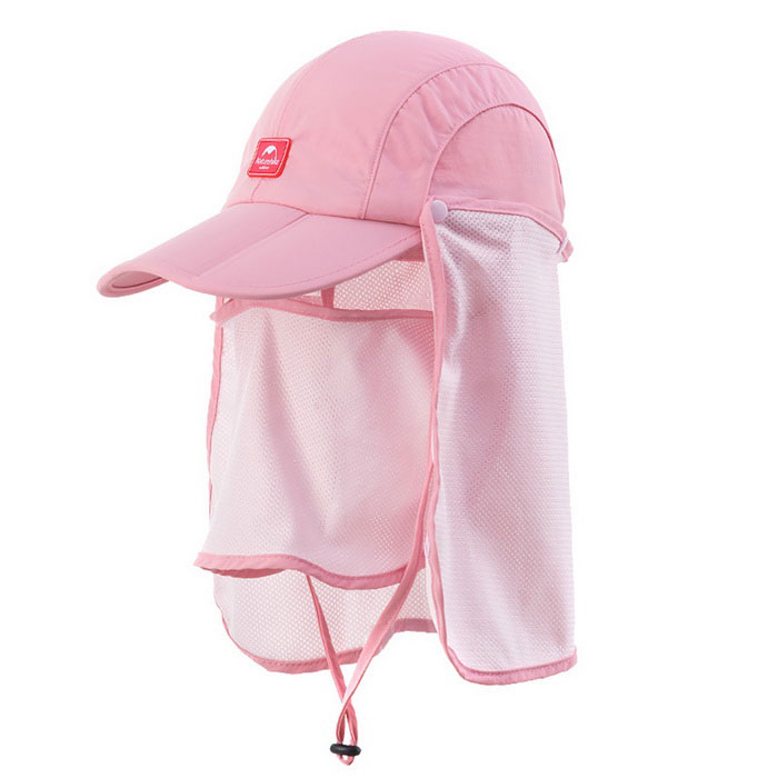 Naturehike Fishing Cap Outdoor Sun Shading Hat Quick Drying - Pink