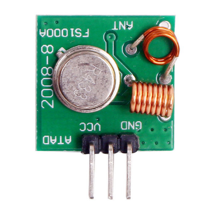 DIY 433MHz Wireless Transmitter Module Superregeneration