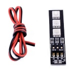 7 Colors RGB 5050 LED Strip Night Light 12V with DIP Switch 30mm Wire