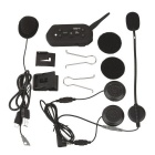 E6 Helmet Bluetooth Intercom 6 Rider Smart Motorcycle Intercom Headset
