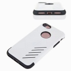 Dual Layer PC + TPU Case for IPHONE 7 - Black + White