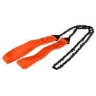 Portable Foldable Manual See-Saw Chain Saw - Orange
