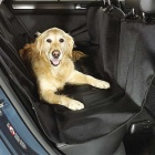 ZIQIAO Car Seat Cover Rear Back Pet Car Mat - Black (150*120cm)