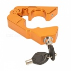 CARKING CNC Grip Lock Lever Handlebar Throttle Lock Brake Lock -Golden