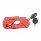 CARKING Motorcycle CNC Grip Lock  Lever Handlebar Throttle Lock - Red