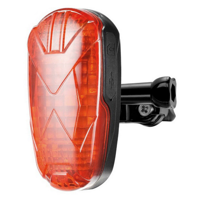 TK906 Bicycle Bike GPS Tracker Hidden Lamp - Red