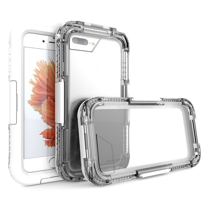 Waterproof Case w/ Touch Screen for IPHONE 7 Plus - White