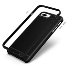 PC protectora + TPU caso para IPHONE 7 PLUS - negro