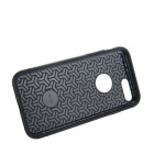 prima de la capa doble de PC + TPU para IPHONE 7 PLUS - azul marino + negro