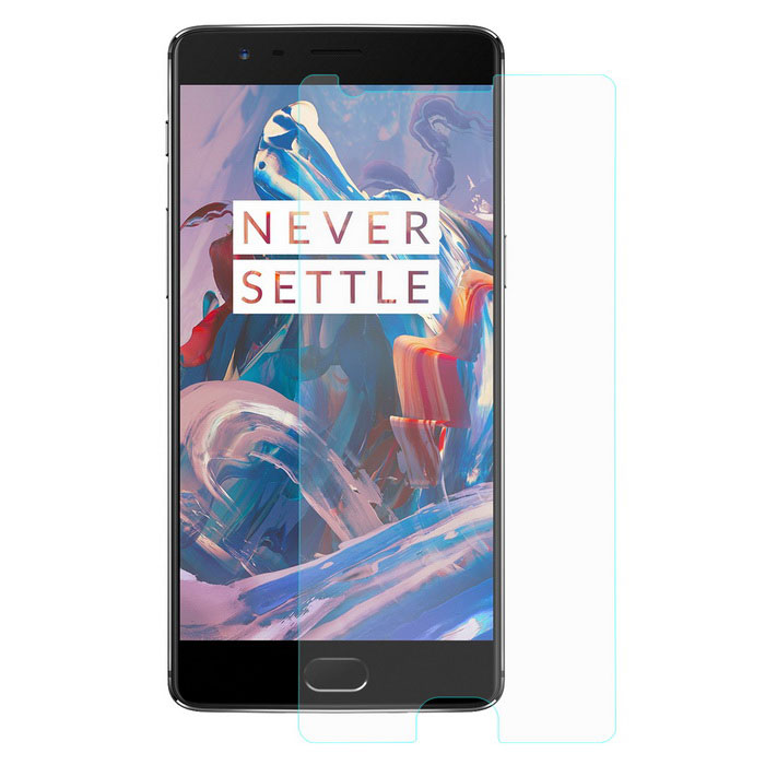Hat-Prince 9H Tempered Glass Protector for OnePlus 3 - Transparent