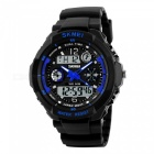 SKMEI 0931 Men's Digital LED Quartz Military Sports Watch - Blue (L)