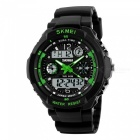 SKMEI 0931 Men's Digital LED Quartz Military Sports Watch - Green (L)
