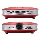 XP X8 Smart Home Theater Projector w/ Wi-Fi / HDMI / Bluetooth - Red