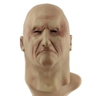 Eye Wrinkled Old Man Masquerade Mask - Beige