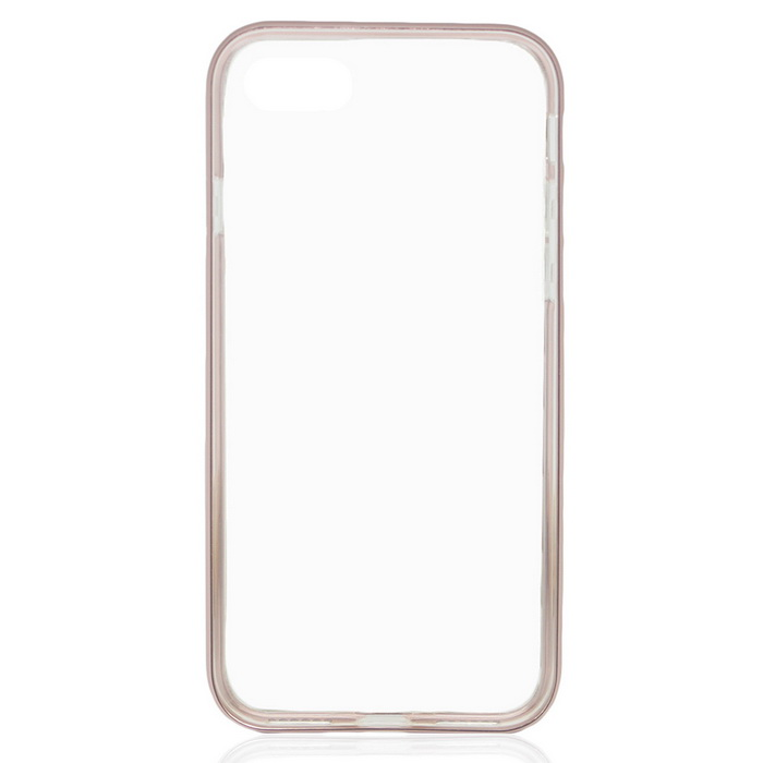 Removable Bumper Frame + Back Case for IPHONE 7 - Rose Golden