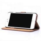 Protective PU Leather + PC Case for IPHONE 7 PLUS - Brown