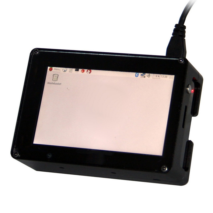 3.5 inch HD High-Speed Display Screen + Match Aluminum Enclose Set