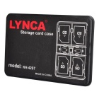 LYNCA KH-42ST Portable 4 SD + 2 TF Card Storage Box - Black