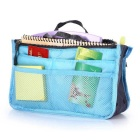 Multifunctional Storage Bag Organizer Double-zipper Cosmetic Pouch