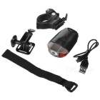 USB Rechargeable Ultra-bright Headlamp / Helmet Lamp Neutral White