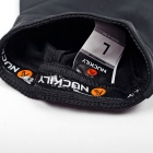 NUCKILY Mountain Bike Sunproof Silk Seamless Cycling Armguard - Black