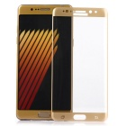 ASLING Tempered Glass Screen Protector for Samsung Note 7 - Golden