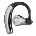 YUEER Ear-hook Sport Bluetooth Headset w/ Mic - Black + Grey
