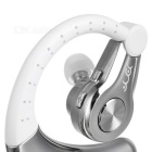 YUEER Ear-hook Sport Bluetooth Headset w/ Mic - White + Silver