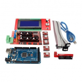 3D Printer Controller RAMPS 1.4 + 2560 R3 + A4988 + 2004LCD Kit