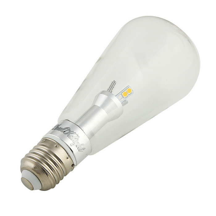 Youoklight e27 12 5730 6w warm wit edison globe lampen 4 for Lampen 4 you