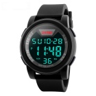 SKMEI Men's 50m Waterproof Digital Sports Wrist Watch - Black