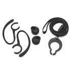 Bluetooth Earhook Headset Accessories for Huawei AM07 Whistle - Black