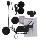 V6 6-Riders Intercom 1200m Bluetooth Interphone for Motorcycle Helmet