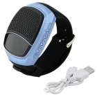 B90 Bluetooth Portable Mini Audio Movement Watch Music Speaker - Blue
