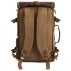 KAUKKO FH05 22L Men's Multi-function Canvas Backpack - Khaki