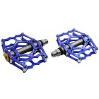 MZYRH Aluminum Alloy Super Light Mountain Bike Pedals - Blue (Pair)