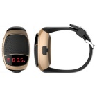 B90 Bluetooth Portable Mini Audio Movement Watch Music Speaker - Gold
