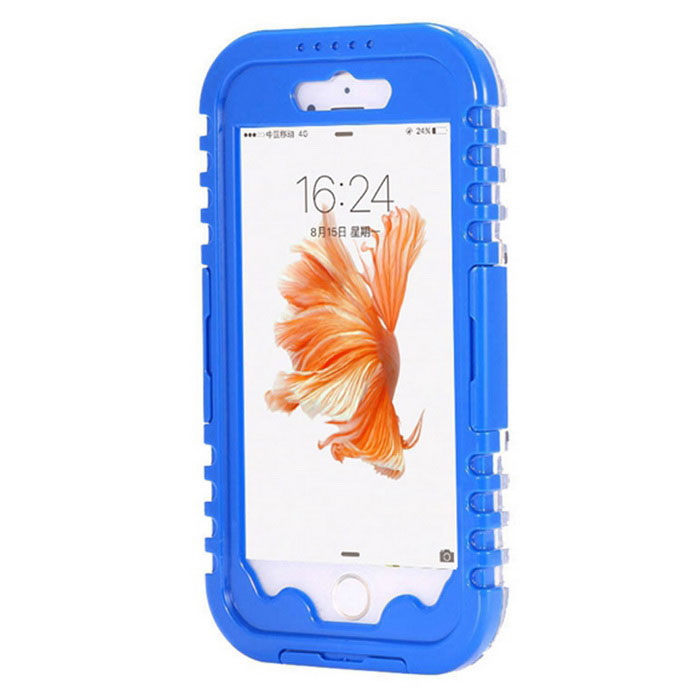 Waterproof Heavy Duty Case for IPHONE 7 - Blue